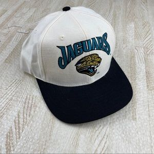 Nike x NFL Jaguars White & Black SnapBack Cap Hat